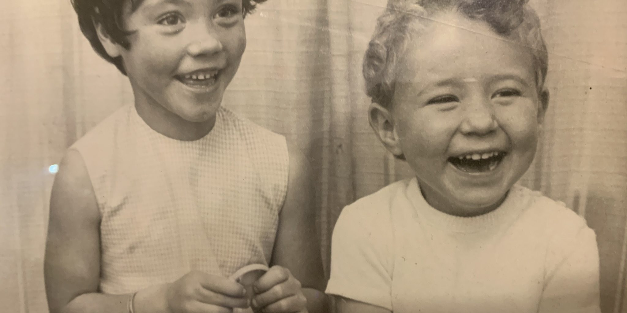 Photo of me and my sister . Happy too x😄
